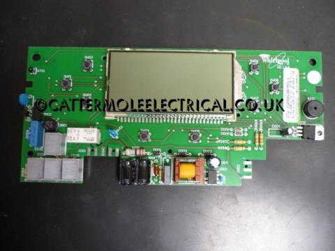 Whirlpool Front Control Display Board 481221848181