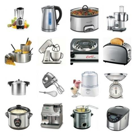 All the small kitchen appliances